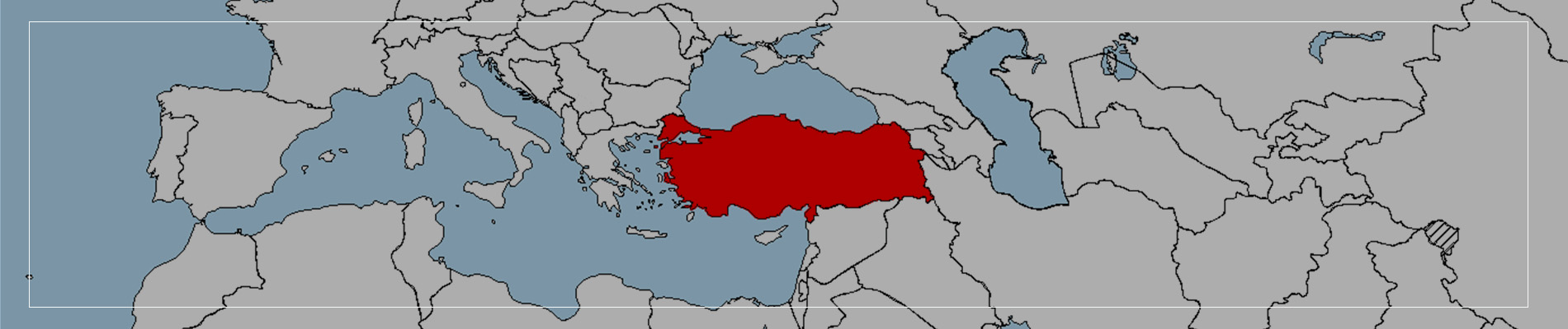 2. Turkey has Unique Location