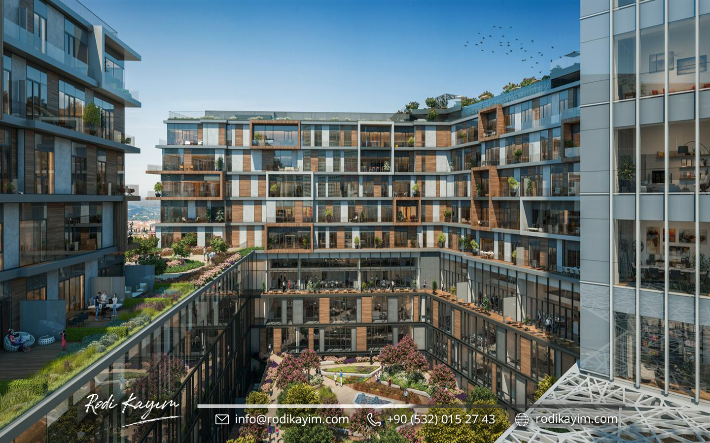 Bomonti Residences By Rotana Real Estate Project in Istanbul 10