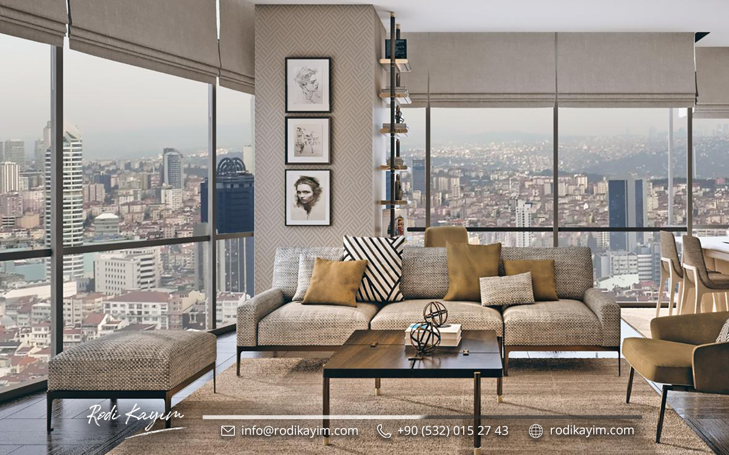 Bomonti Residences By Rotana Real Estate Project in Istanbul 11