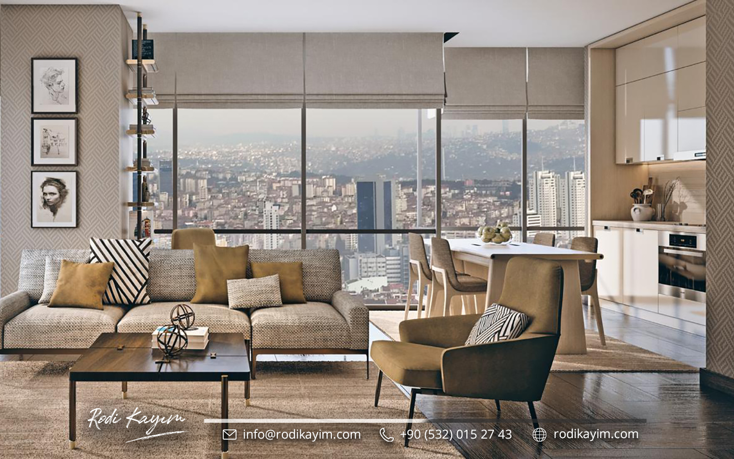 Bomonti Residences By Rotana Real Estate Project in Istanbul 12