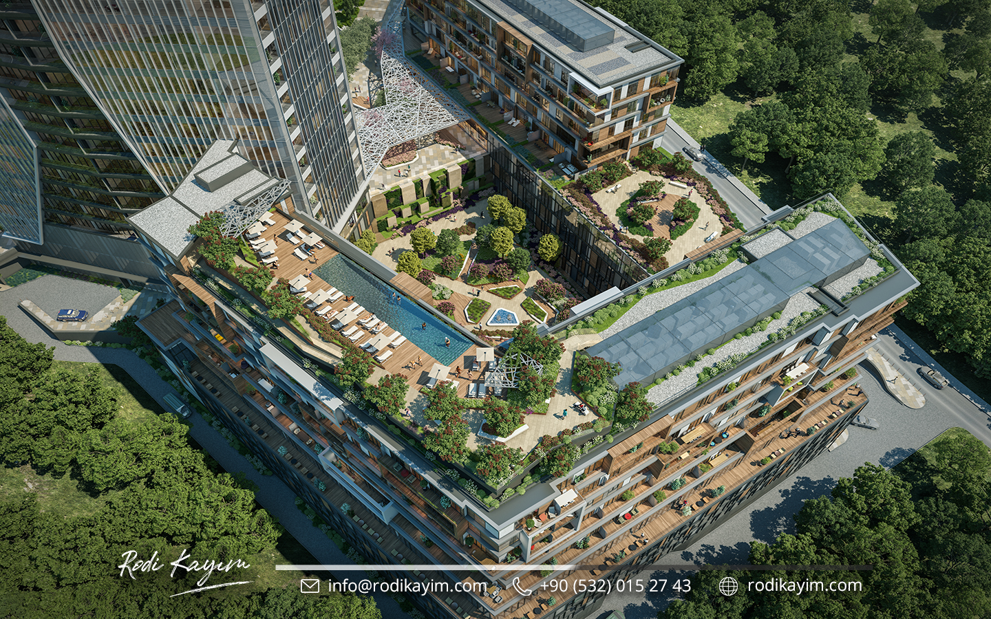 Bomonti Residences By Rotana Real Estate Project in Istanbul 19