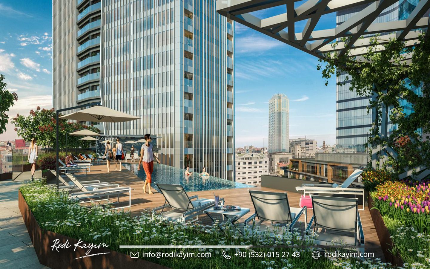 Bomonti Residences By Rotana Real Estate Project in Istanbul 7