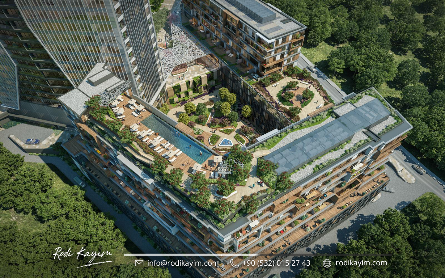 Bomonti Residences By Rotana Real Estate Project in Istanbul 9