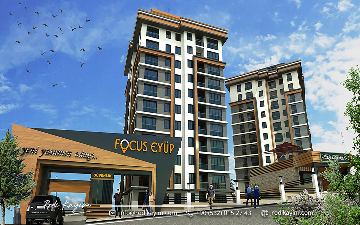 Focus Eyup Istanbul Real Estate Project Istanbul 2