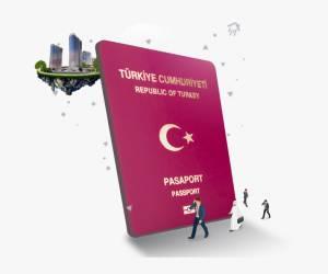 turkish passport vector