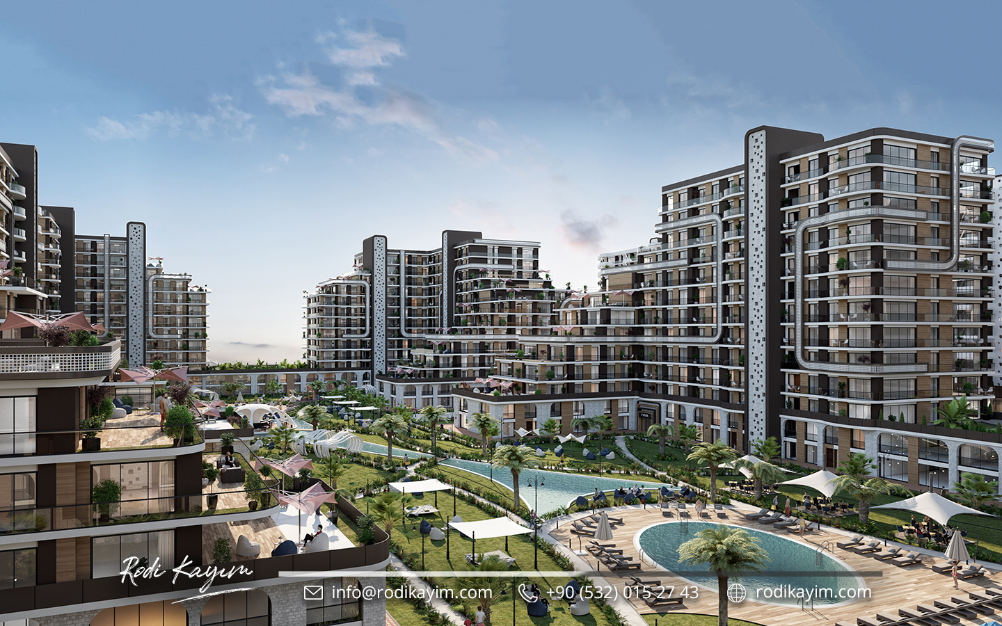 Demir Country Taksim Real Estate Project 1