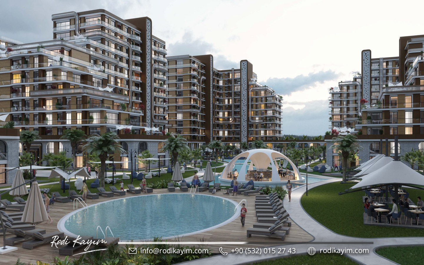 Demir Country Taksim Real Estate Project 13