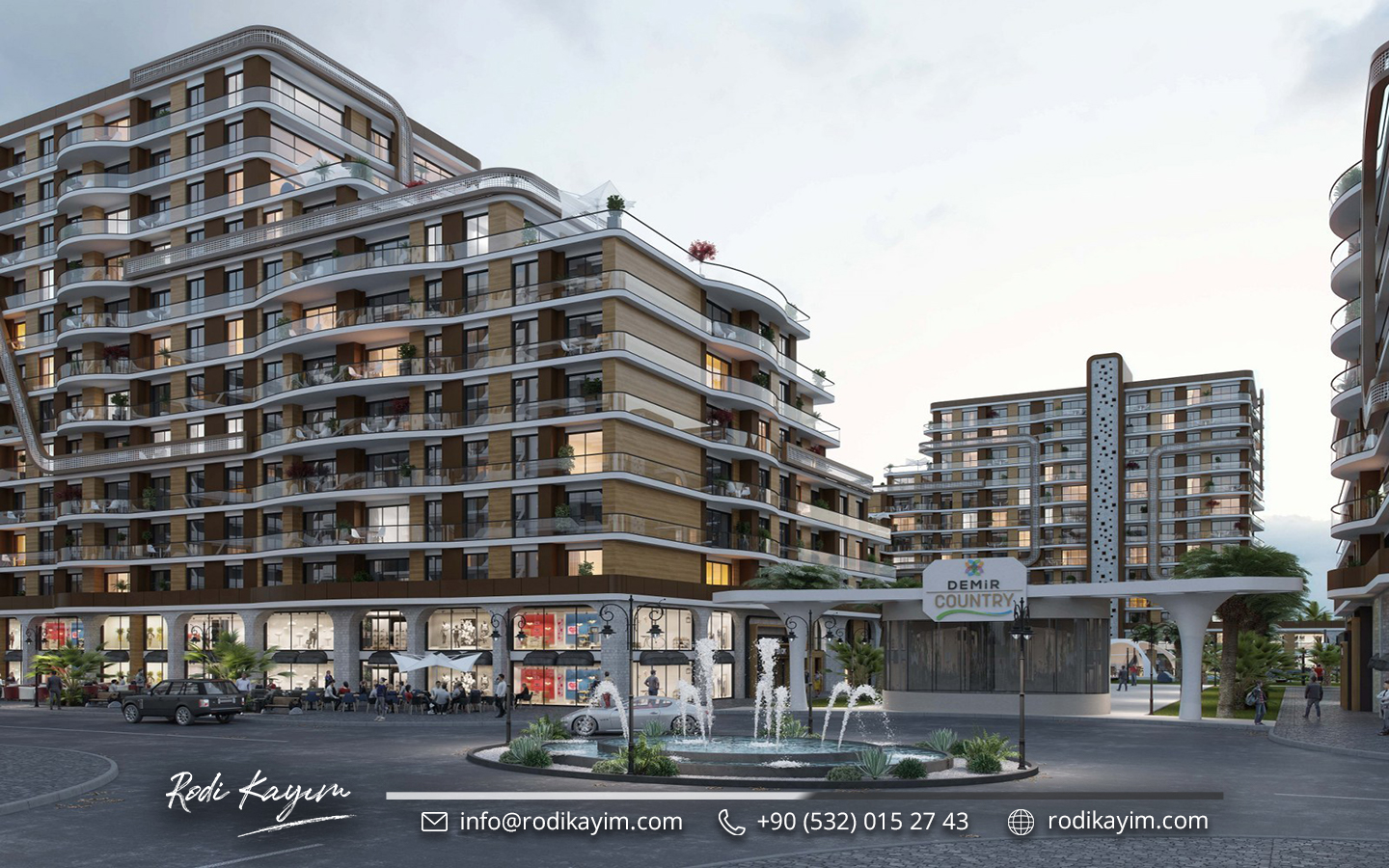 Demir Country Taksim Real Estate Project 14