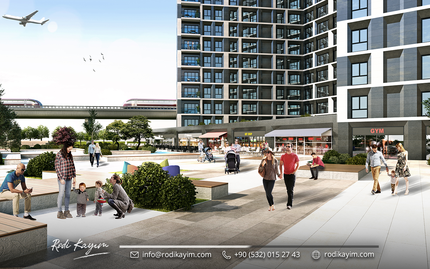 Babacan Port Royal Apartments for sale in istanbul 8