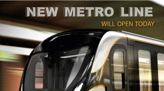 Mahmutbey Metro M7 Opened Today