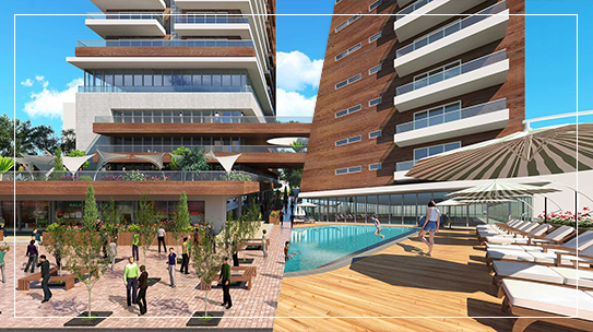 Social Facilities in real estate projects in istanbul 2021
