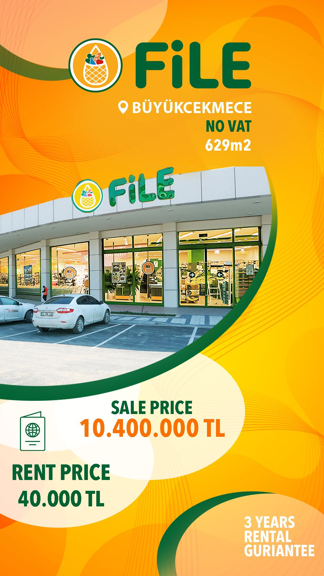 file market Commercial Store For Sale in Istanbul